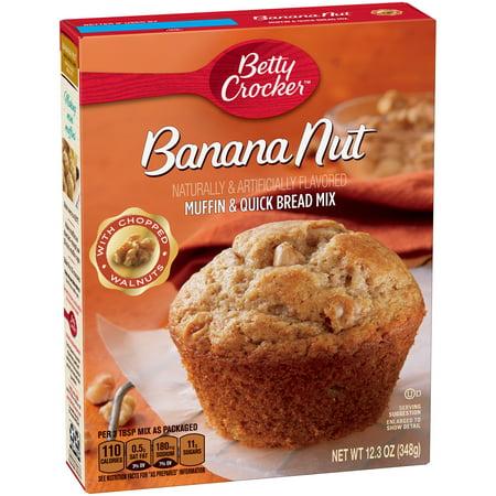 Betty Crocker Muffin   Quick Bread Mix  Banana Nut  12 3 Oz