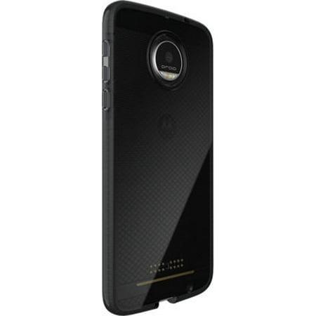 Tech21 Evo Check Flexshock Case For Moto Z Droid Xt1650   Smokey Black