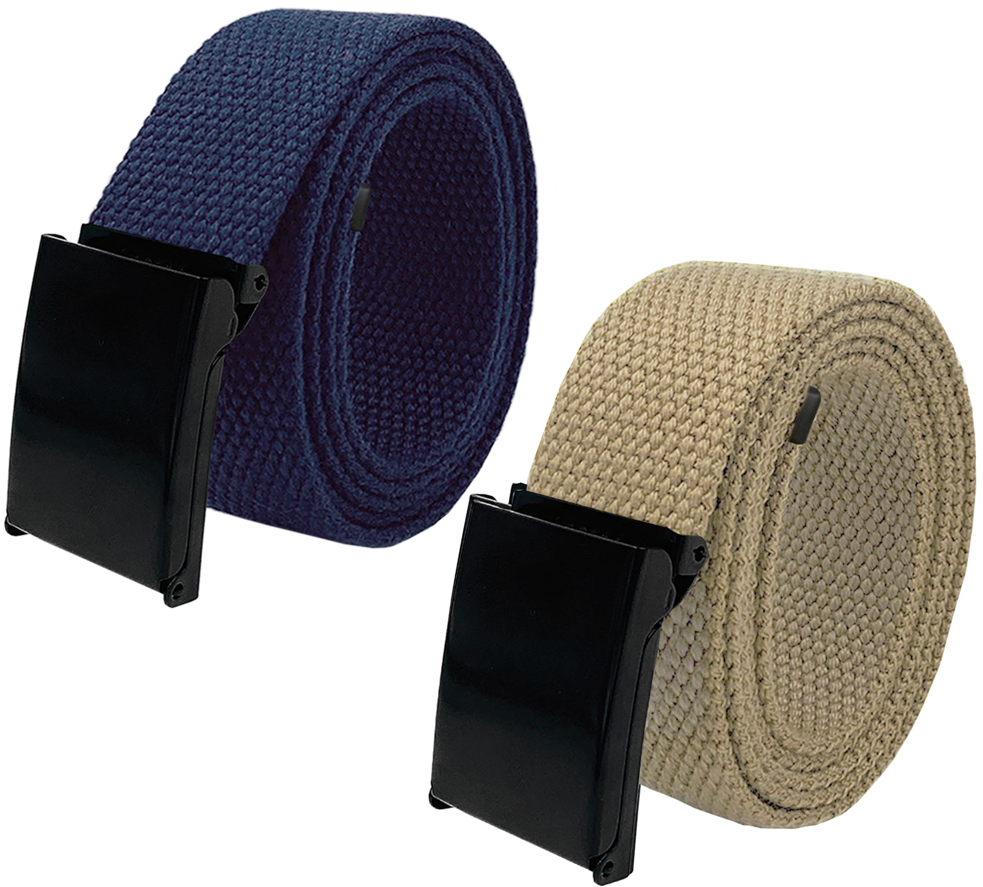 Boys Cub Scout Uniform Belt with Flip Top Buckle and Adjustable Navy Web Belt Small