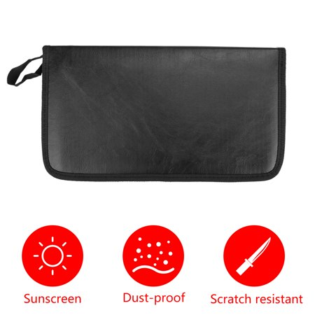 80 Sleeve Portable CD DVD Disc Carry Case Holder Bag Wallet Storage Ring Binder