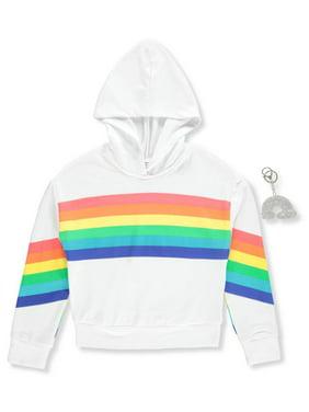 0ab29194e0f9 Big Girls Sweatshirts   Hoodies - Walmart.com