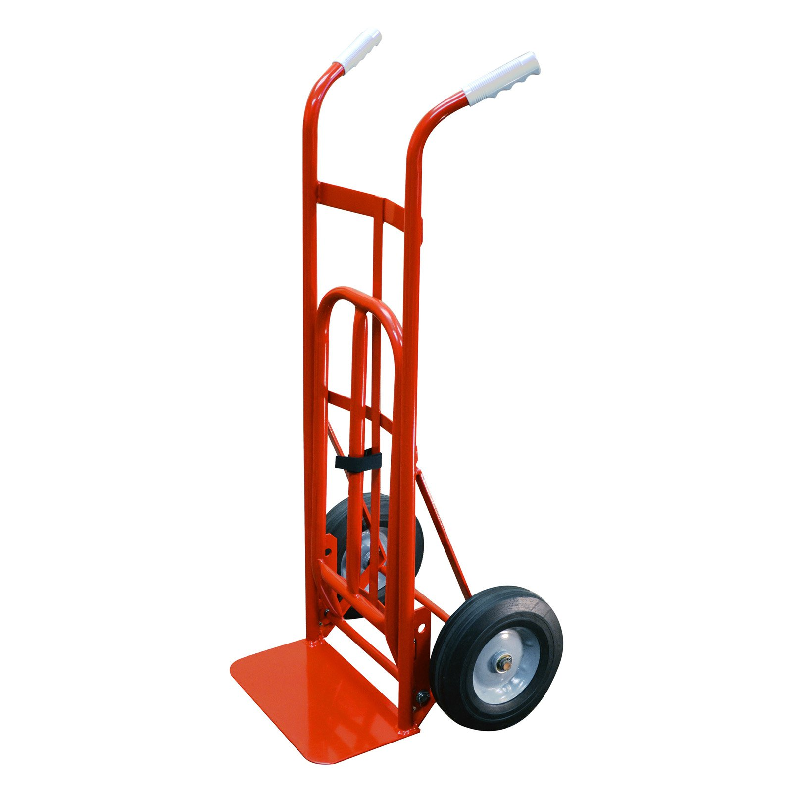 Milwaukee Dual Handle Hand Truck with Nose Plate Extension by Gleason - Milwaukee Hand Truck