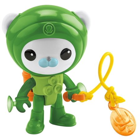 Fisher-Price Octonauts Barnacles' Suction Suit, Barnacles figure and rescue gear brings the adventure of the Octonauts to your home! By FisherPrice Ship from US](Barnacles Octonauts)