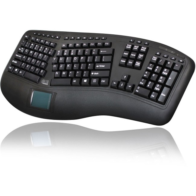 Adesso Tru-Form 4500 Ergo Touchpad Keyboard
