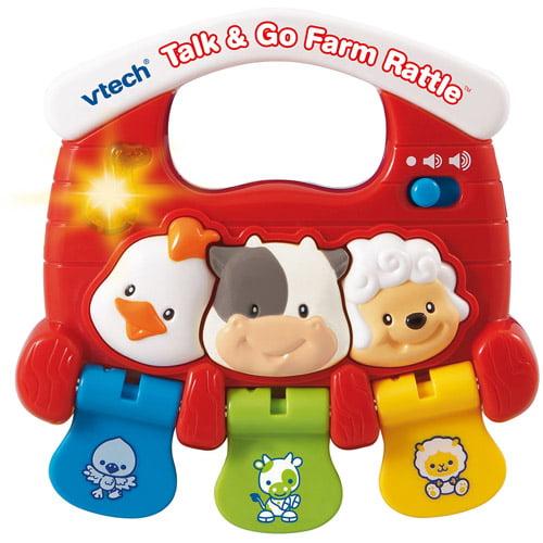 VTech Talk and Go Farm Rattle