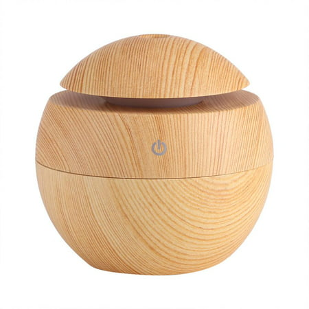 HERCHR Oil Diffuser Ultrasonic Humidifiers Aromatherapy Diffuser Aroma Scented Cool Mist Air Purifier LED Touch Humidifier (Humidifier Water Scent)
