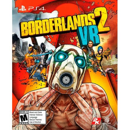 PlayStation VR Borderlands 2 VR Game - Physical Card - 2019 FPS - RPG (The Best Ps Vita Games 2019)