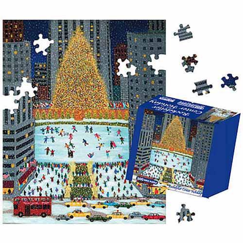 Rockefeller Center Jigsaw Puzzle, 500 Pieces