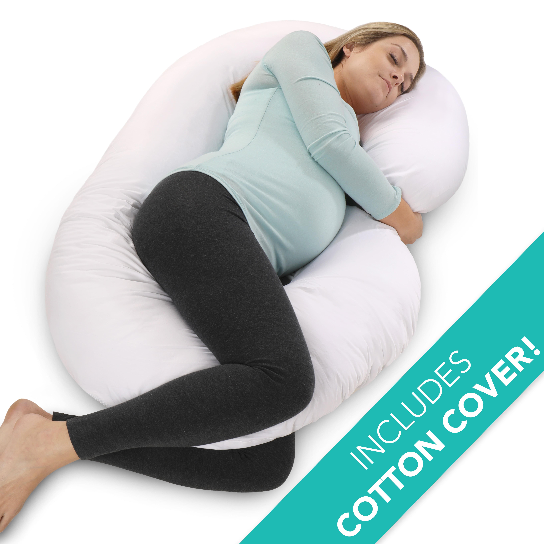 PharMeDoc Pregnancy Pillow C Shaped Maternity Body Pillow for Pregnant Women by PharMeDoc