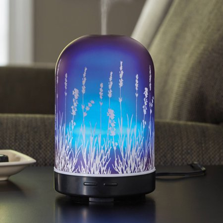 Better Homes and Gardens 3-Piece Lavender Fields 100 mL Diffuser and Essential Oil Gift (Better Homes And Gardens Essential Oil Diffuser Instructions)