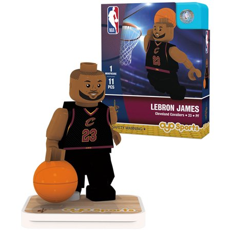 LeBron James Cleveland Cavaliers OYO Sports Player Away Jersey Minifigure - No