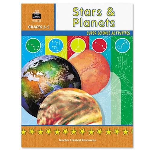 Teacher Created Resources Super Science Activities, Grades 2-5, Stars Planets (3663) - image 1 of 1
