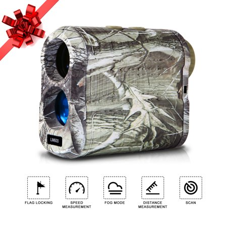 Cyber Monday Sales Golf Rangefinder, IPOW 6X Laser Hunting Range Finder 650 Yards with Speed, Scan, Anti-Fog and Normal Measurements thumbnail