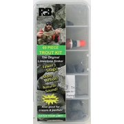 Celsius 14-Piece Ice Fishing Jig Kit, AFK8