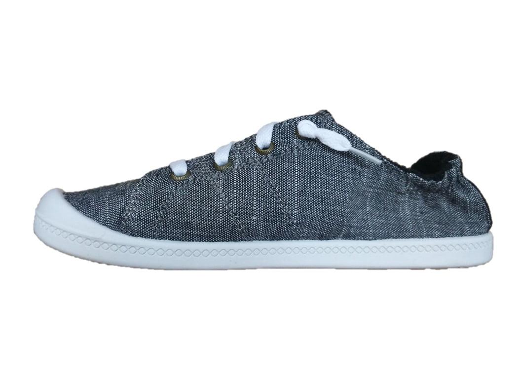 Tru Women's Scrunch Back Canvas Sneaker