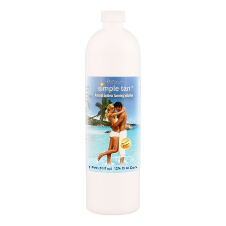 Pint Belloccio Simple Tan 12% DHA Dark Sunless Airbrush Spray Tanning