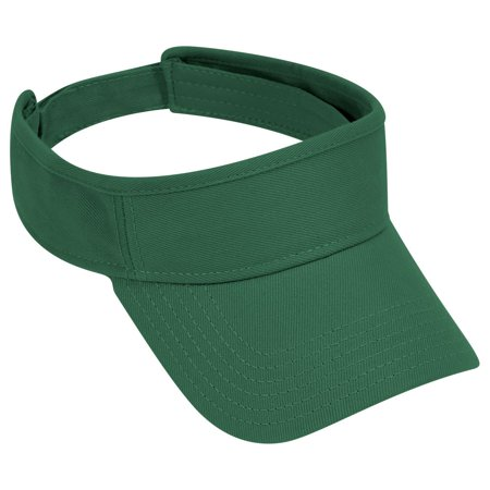 OTTO Brushed Bull Denim Sun Visor - Dk. Green