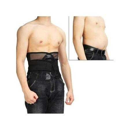 Men & Women Tummy Belly Abdomen Trimmer Body Slimming Waist Belt Fat Burner (Best Body Shaper For Belly Fat)
