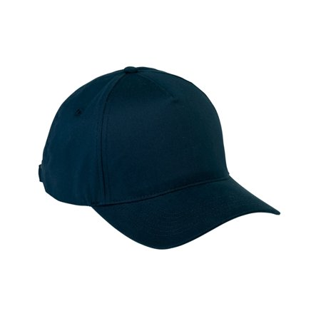 Branded Big Accessories 5-Panel Brushed Twill Shirt Cap - NAVY - OS (Instant Saving 5% & more on min 2)