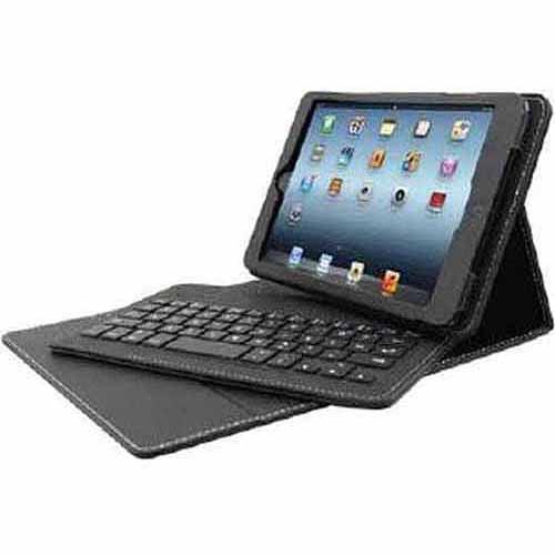 "Solidtek Keyboard/Folio Case for 8"" iPad mini, Black"