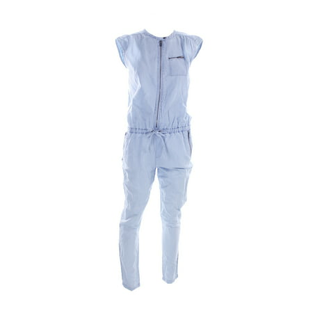 Kiind Of Light Blue Cap-Sleeve Natasha Jumpsuit XS - Blue Jumpsuit
