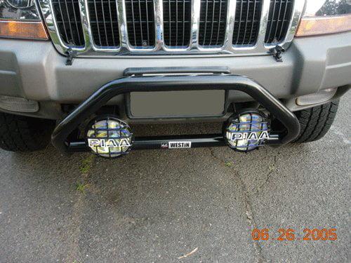 Jeep Grand Cherokee Bumper Lamp Bar PIAA 510 Star White Driving Light Kit by BlingLights
