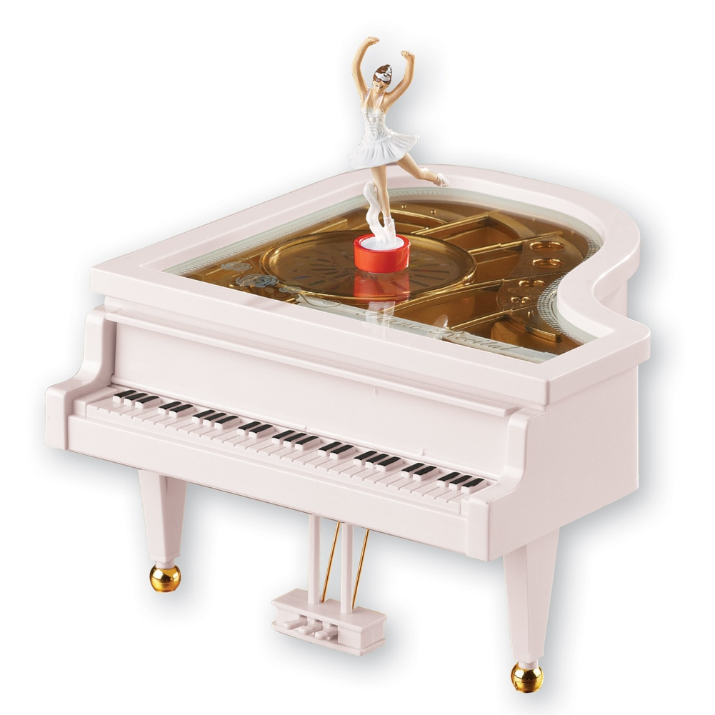 Classical Piano Ballerina Music Box by Collections Etc