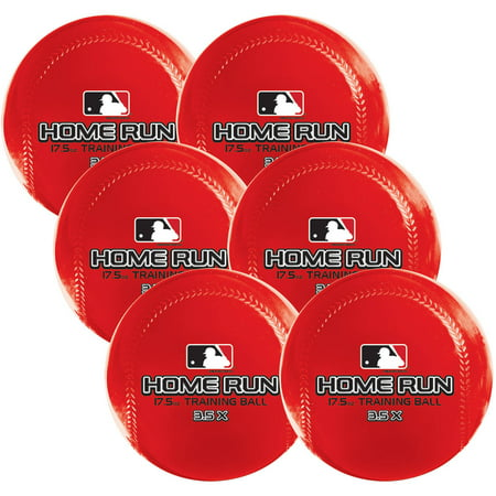 Franklin Sports MLB Home Run Training Ball 6pk