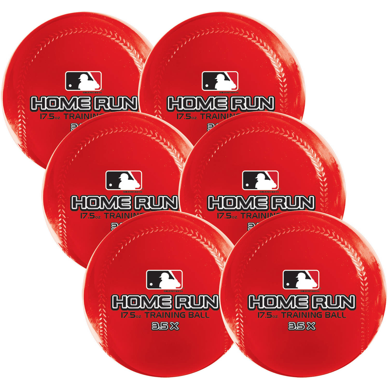 Franklin Sports MLB Home Run Training Ball, 6pk
