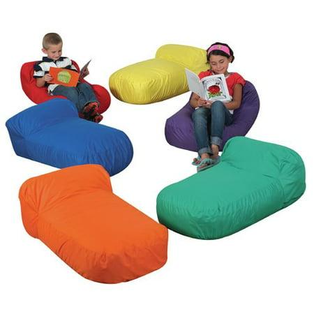 children 39 s factory pod floor pillow set of 6. Black Bedroom Furniture Sets. Home Design Ideas