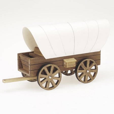 Wood Model Kit Makes 1 Cover Wagon