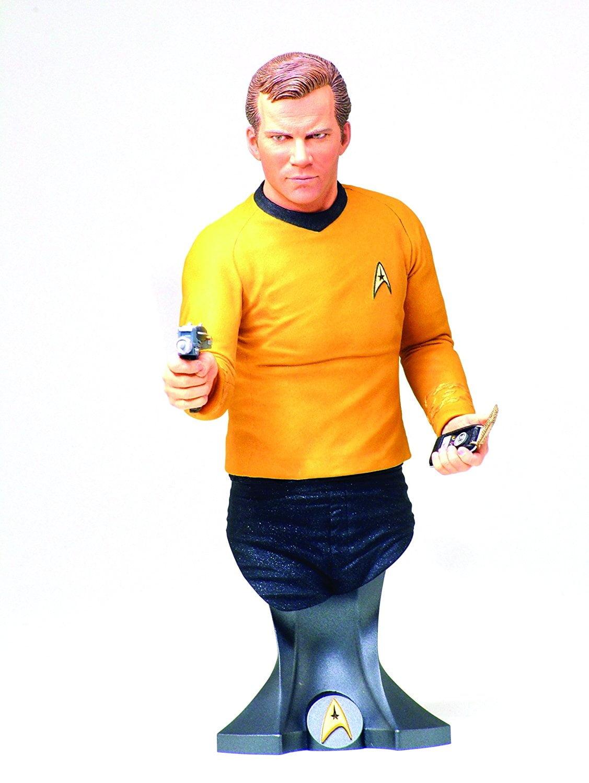 Titan Merchandise Star Trek: Captain James T. Kirk Mini Bust by Diamond Comic Distributors