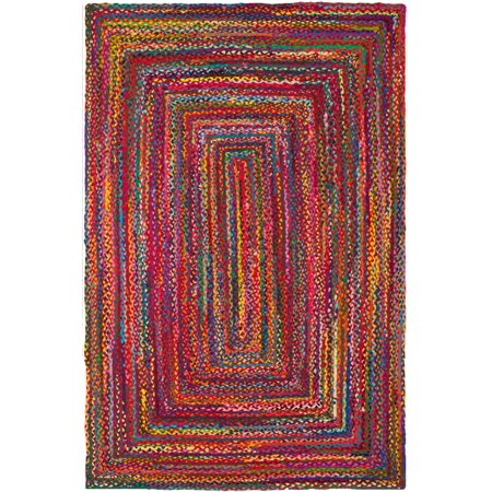 Safavieh Braided Quincy Geometric Area Rug