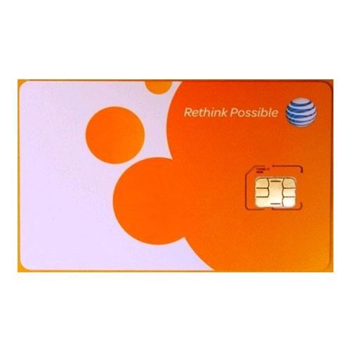 AT&T Pre Paid Micro SIM Card (4G)