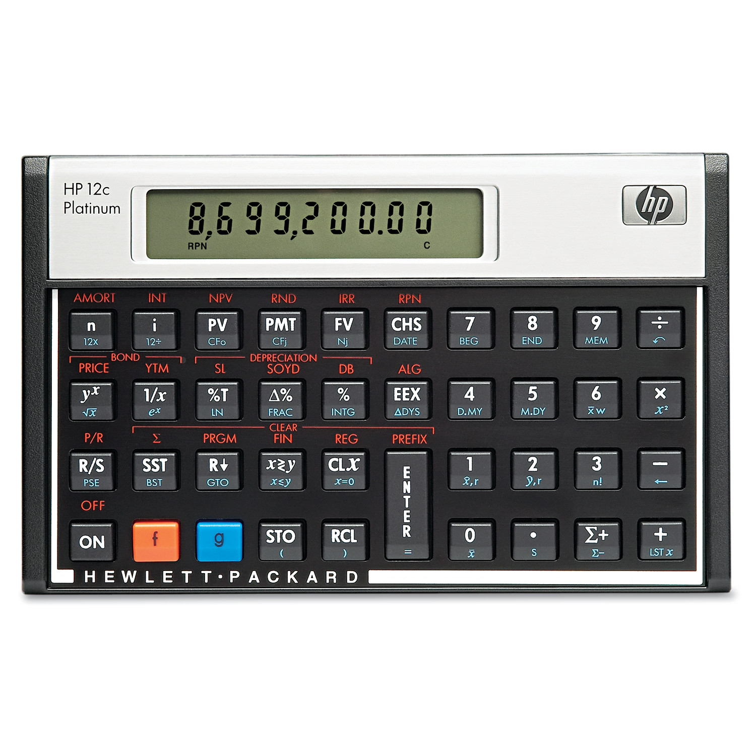 Hp C Platinum Financial Calculator Digit Lcd  WalmartCom