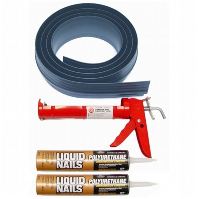 Auto Care Products 51010 Gray 10 ft.  Tsunami Door Seal Kit