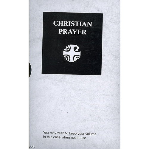 Christian Prayer - Black Leather