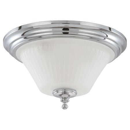 Nuvo Lighting  60/4272  Ceiling Fixtures  Teller  Indoor Lighting  Flush Mount  ;Polished Chrome
