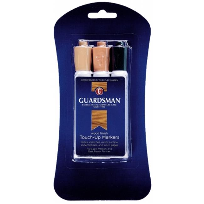 3 Colors Guardsman Wood Touch-Up Markers Touch-Up and Repair Scratches