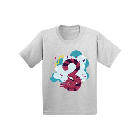 Cat Birthday Boy Tshirt Girl Shirt Funny Gifts For Kids Animal Party 3rd 3 Year Old