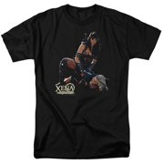 Xena Warrior Princess In Control Mens Short Sleeve Shirt