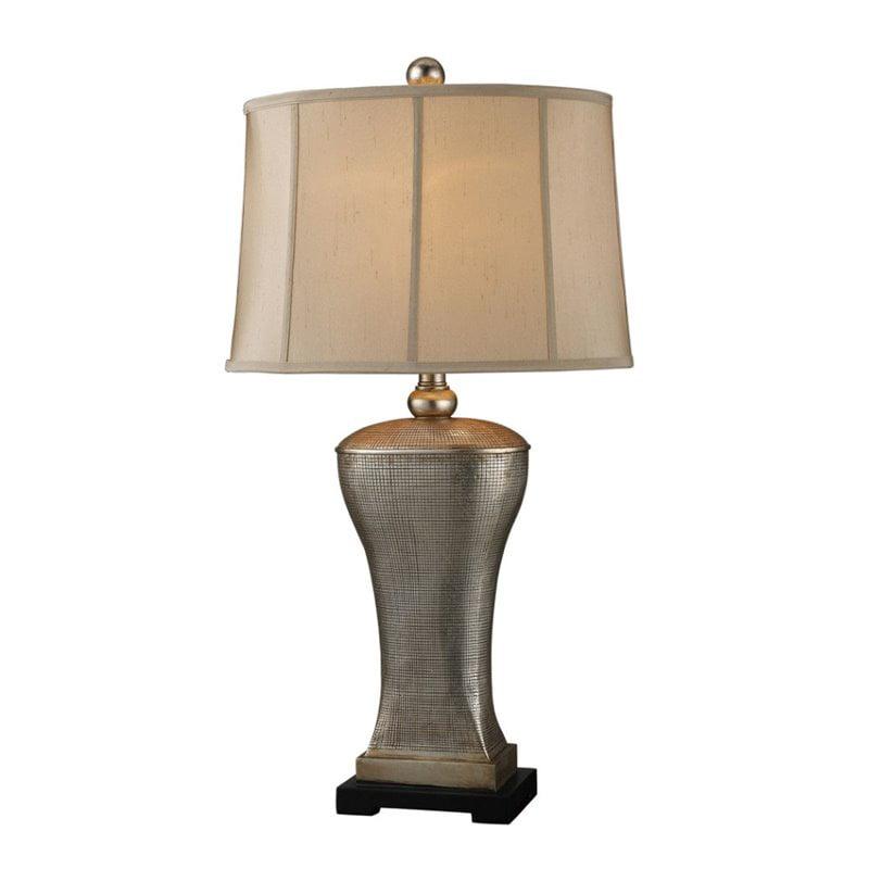 Dimond Lighting Lexington Table Lamp in Silver Lake
