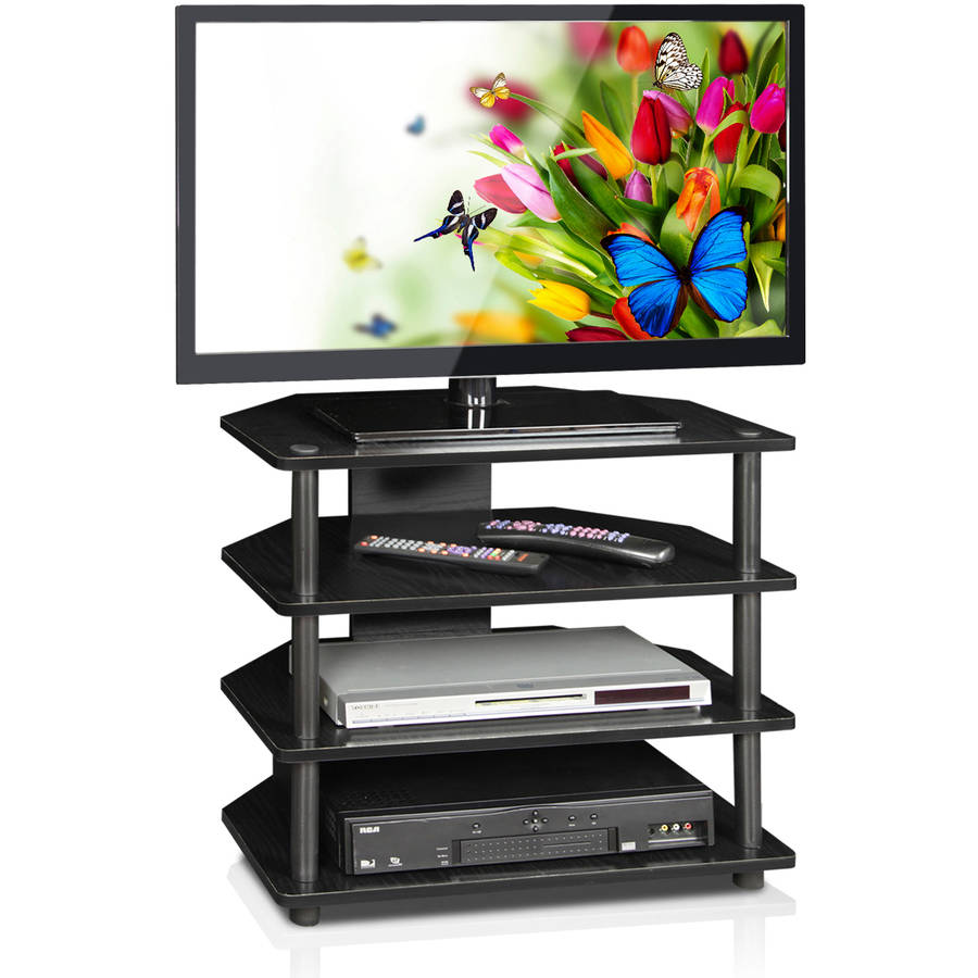 "Furinno 15093 Turn-N-Tube Petite TV Stand for up to 30"" TV"