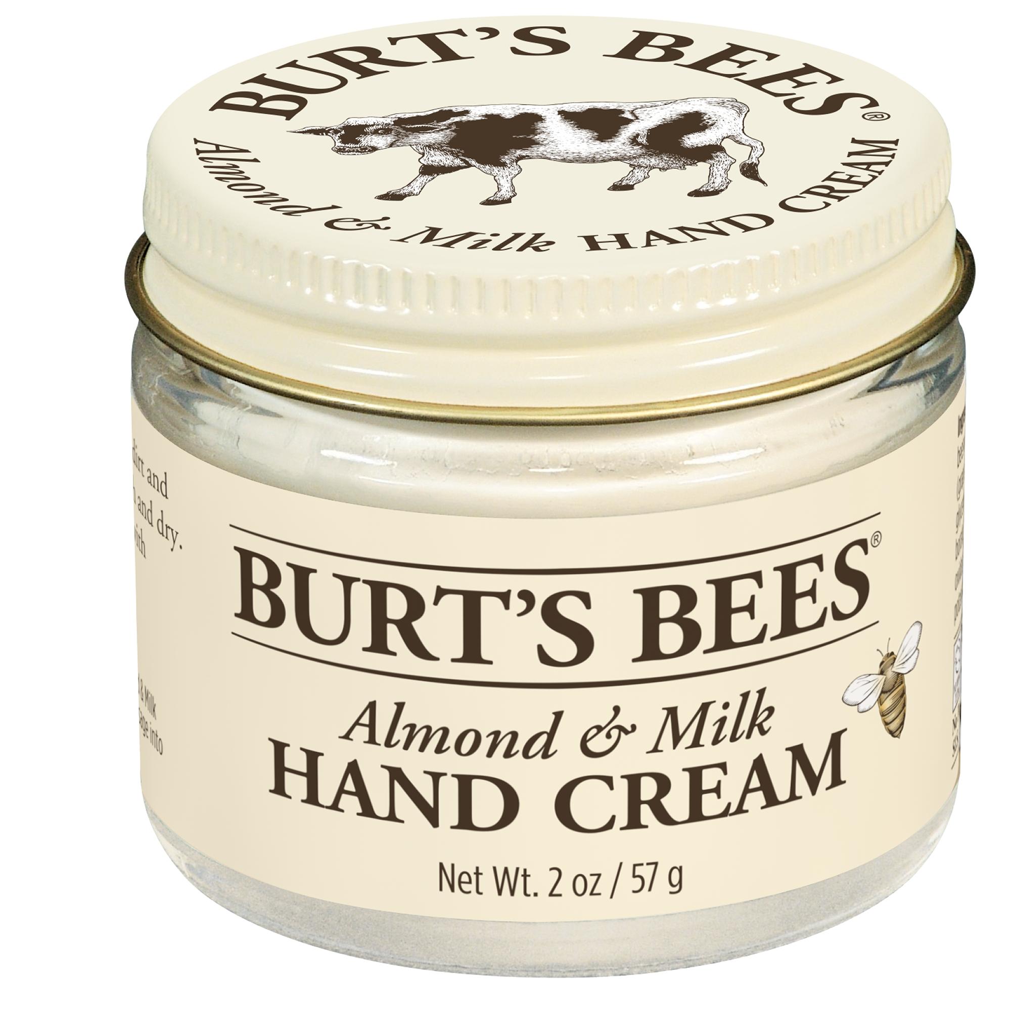 Burt's Bees Almond &  Milk Hand Cream - 2 oz Jar