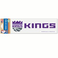 Sacramento Kings WinCraft 3'' x 10'' Perfect Cut Decal - No Size