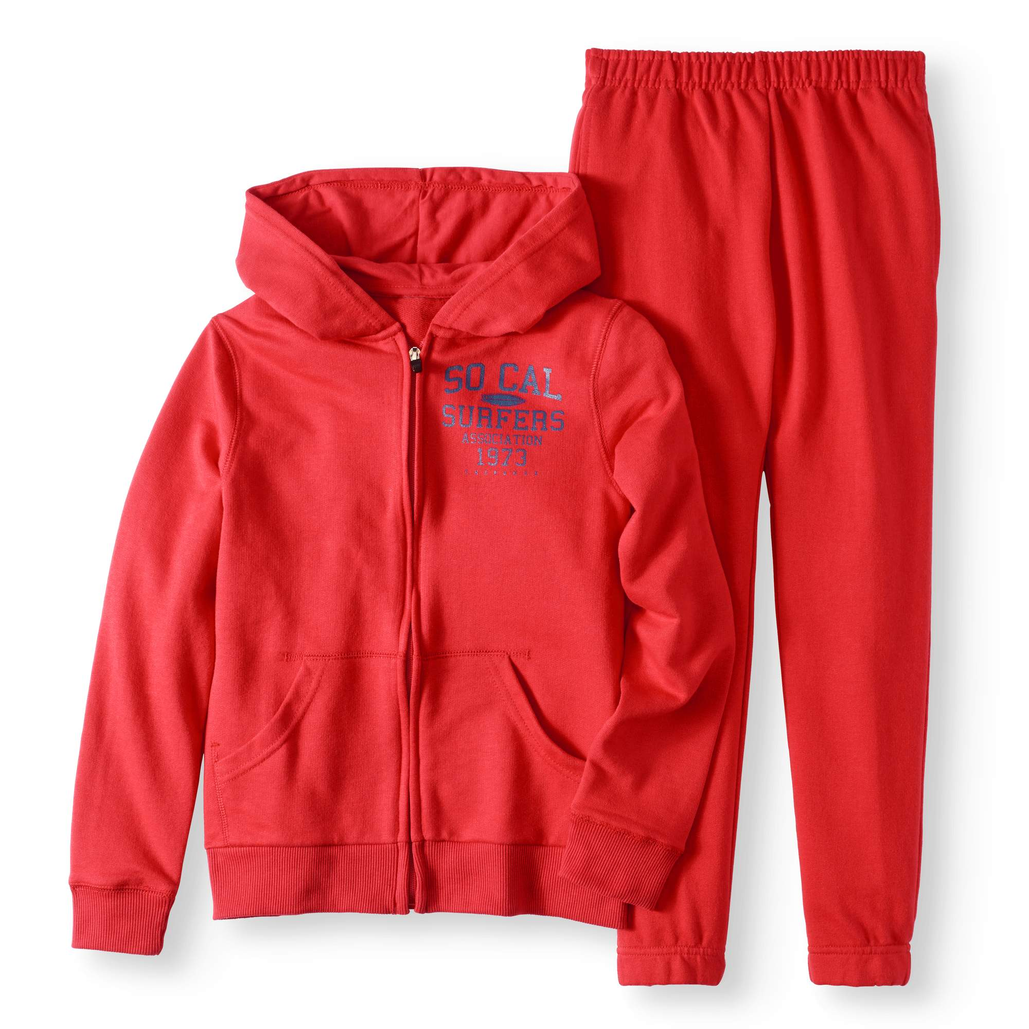 Graphic Hoodie and Joggers, 2-Piece Set (Little Boys & Big Boys)