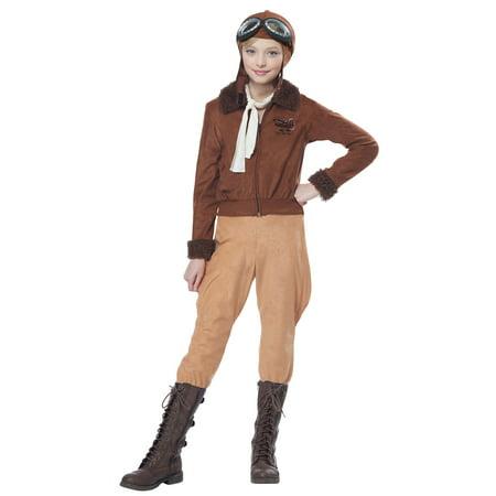 Child Amelia Earhart/Aviator Costume (Amelia Earhart Costume For Girls)