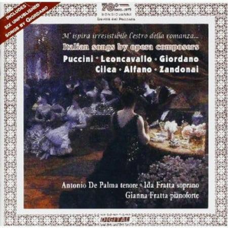 Italian Songs By Opera Composers / Sei Liriche (CD) (Halloween Opera Songs)