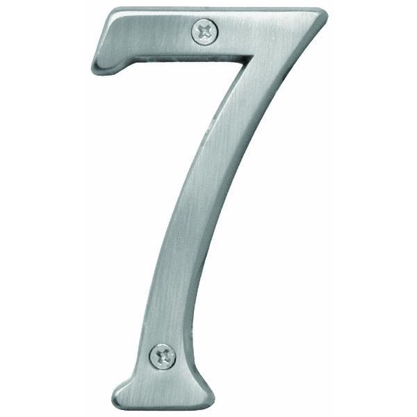 Hy-Ko 4 In. Satin Nickel Number