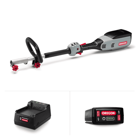 Image of Oregon 40V Multi-Attachment Powerhead A6 kit (no attachment, 4.0Ah Battery, Standard Charger)